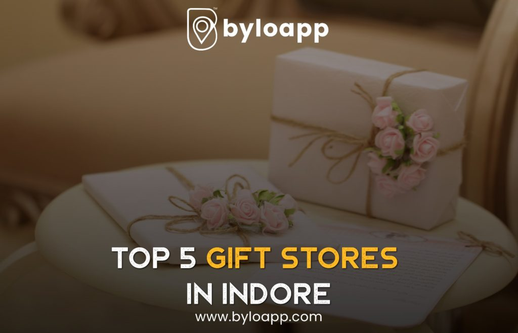 top 5 gift stores in Indore