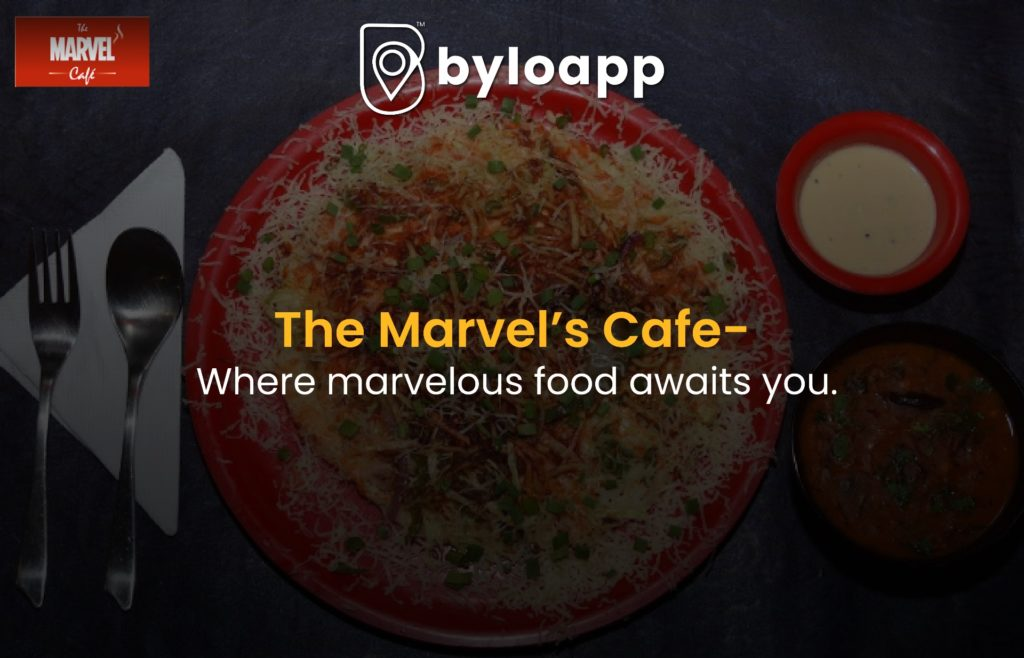 The Marvel's cafe Indore