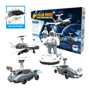 DIY 4 in 1 Solar Powered Space Mission Toy -Super Toys-Toys & Games -Bhopal