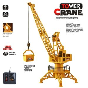 DIY Electric Remote Control Tower Crane Kids Toy-Super Toys-Toys & Games -Bhopal