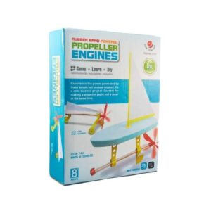 DIY Rubber Band Powered Propeller Engines Educational Toy-Super Toys-Toys & Games -Bhopal