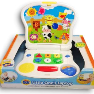 Little One's Educational Laptop Toy for Kids-Super Toys-Toys & Games -Bhopal