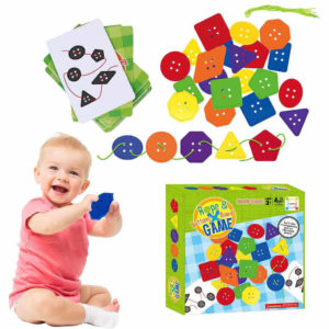 Rope & Buttons Premium Kids Board Game-Super Toys-Toys & Games -Bhopal